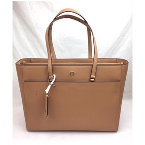 Tory Burch Bags - TORY BURCH Robinson Saffiano Leather Tote